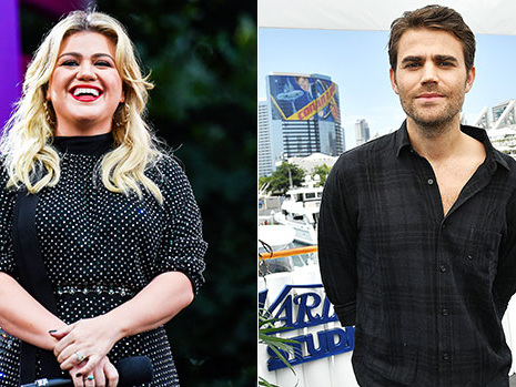 Kelly Clarkson Fangirls Hard Over Paul Wesley On Her Show: 'What Up Stefan?' – Watch