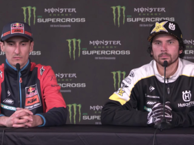 2018 San Diego Supercross   Post-Race Press Conference - Top Finishers Recap Their Night