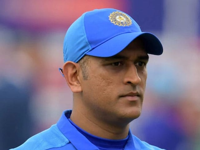 """""""Please Ask Him"""": Ganguly On Dhoni's Participation In T20 World Cup"""