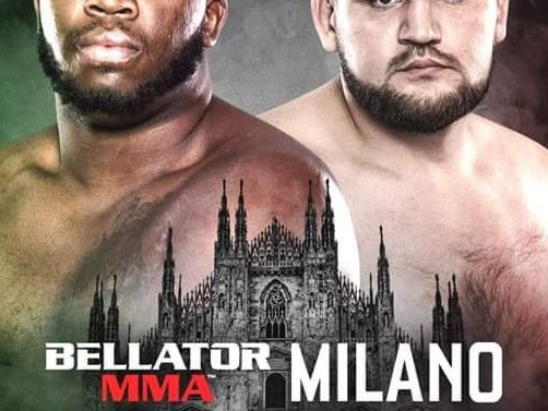 Bellator 230 competitor Domingos Barros looks for another finish to climb heavyweight rankings