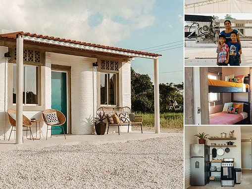 50 families living off of $76 a month will live in the world's first 3D printed community in Mexico