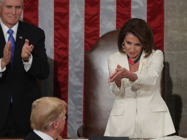 There Was An Unexpected Moment Of Unity At SOTU, But It Wasn't Because Of Trump