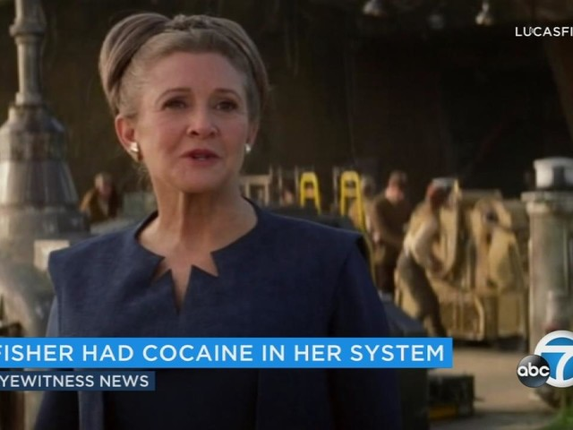 Carrie Fisher autopsy: Cocaine, heroin, ecstasy found