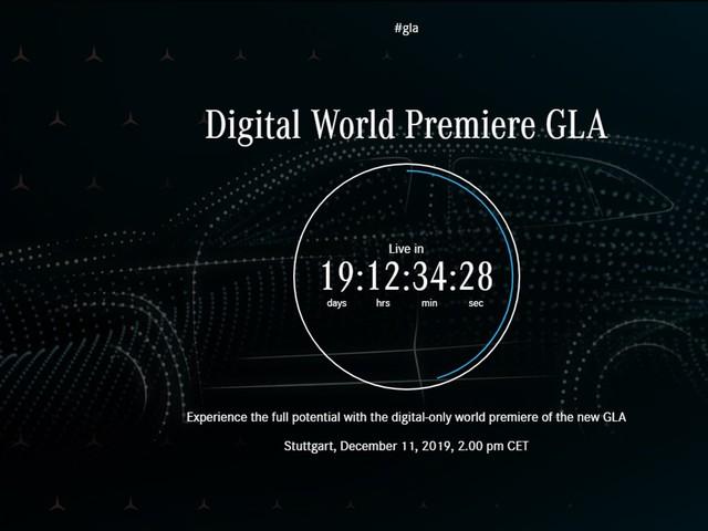 2020 Mercedes GLA Teased, Debuts December 11th