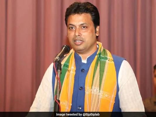 Those Who Oppose Hindi Don't Love Country, Says Biplab Kumar Deb