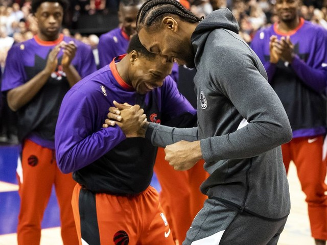 Kawhi Leonard returned to the Toronto with nothing but love from Raptors fans