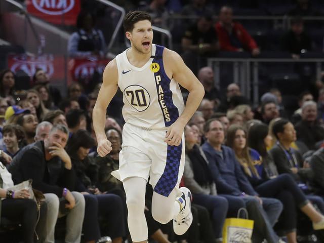 Warren scores 33 to help Pacers hold off Warriors 129-118