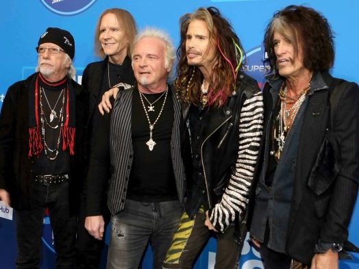 Aerosmith Reunites With Drummer Joey Kramer at MusiCares, Although They Don't Perform Together