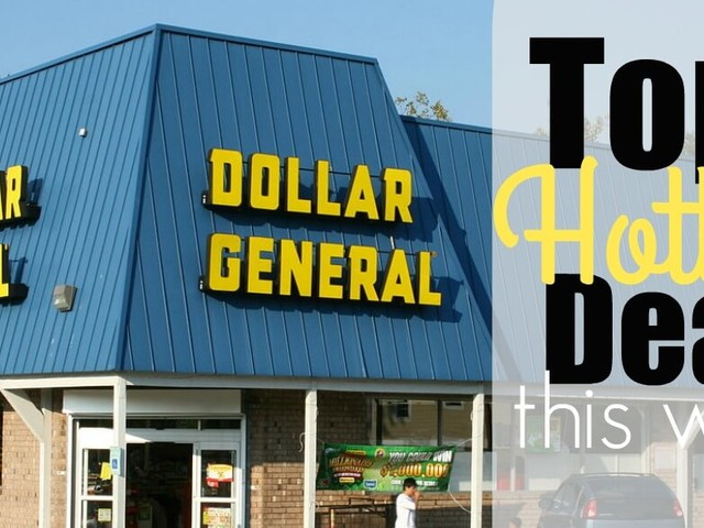 5 of the Most Popular Deals at Dollar General – Ending 10/14