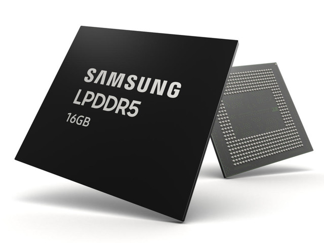 Samsung 16GB LPDDR5 RAM enters mass production to prepare phones for 5G