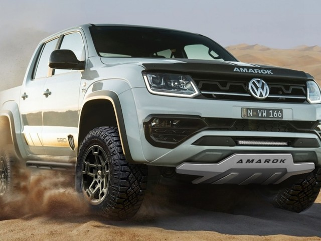 VW Amarok W580X By Walkinshaw Performance Is A Rugged Pickup For Down Under