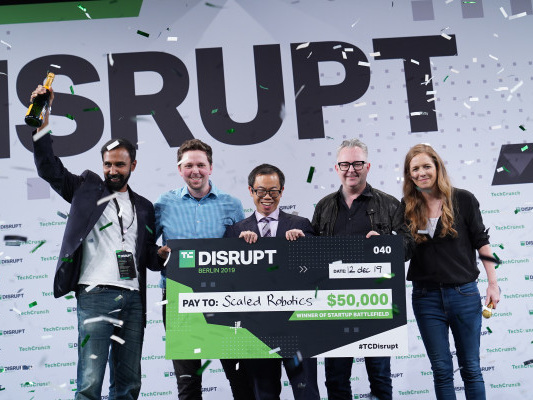 And the winner of Startup Battlefield at Disrupt Berlin 2019 is… Scaled Robotics