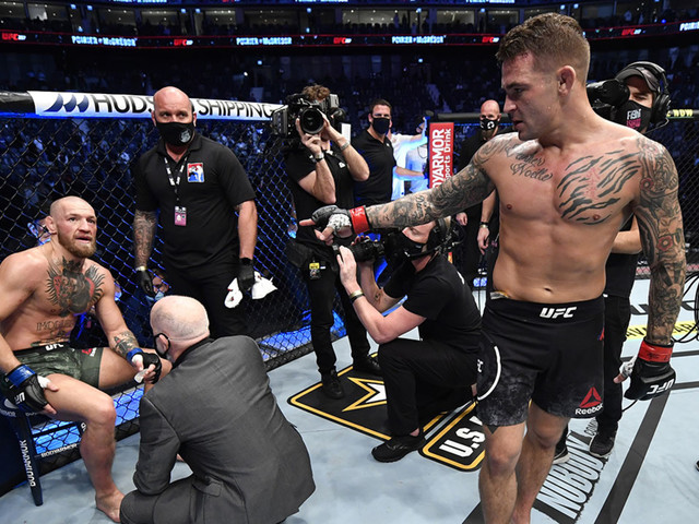 UFC 257: Poirier knocks out Conor McGregor in 2nd round