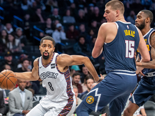 Spencer Dinwiddie's late heroics lift Nets over Nuggets