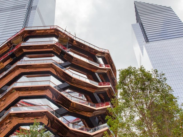 Vessel, the $200 million art installation at New York's Hudson Yards, just won a major prize. Here's what it's like to climb it.