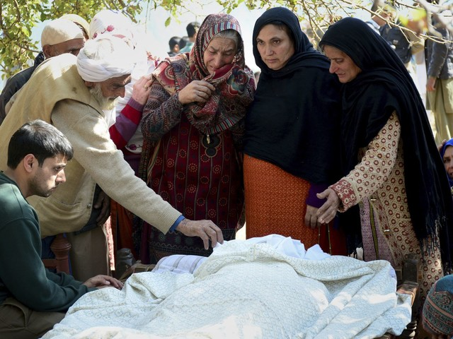 India and Pakistan trade fire in Kashmir, killing nine