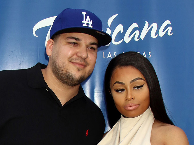 Rob Kardashian Spends First Father's Day with Dream at Disneyland!