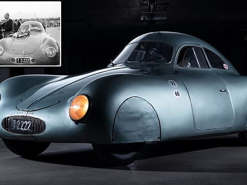 World's oldest-surviving Porsche is set to sell for $20 MILLION at auction