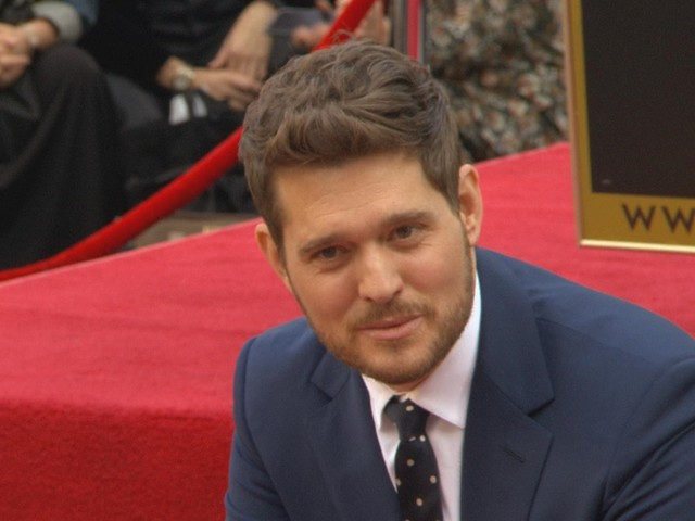 Michael Buble Receives Star on Hollywood Walk of Fame