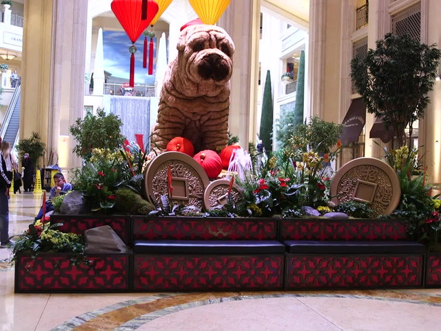 Venetian, Palazzo showcase Chinese 'Year of the Dog' display — VIDEO