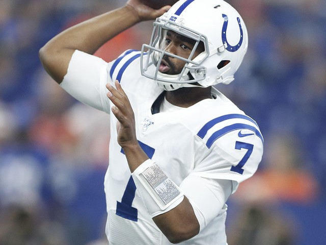 Jacoby Brissett showing Colts he can be a starting quarterback