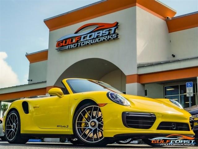2017 Porsche 911--Turbo--S--Cabriolet