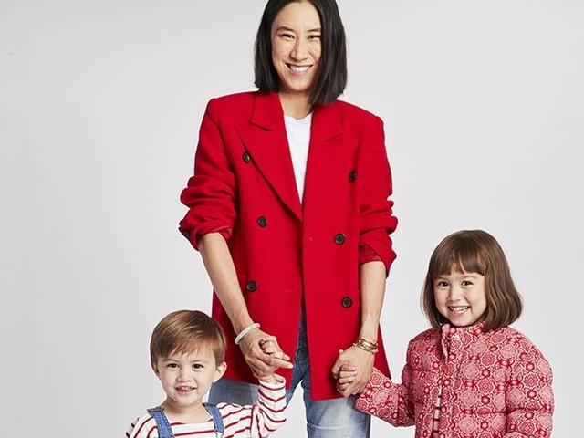 Eva Chen collaborates with childrenswear brand Janie and Jack
