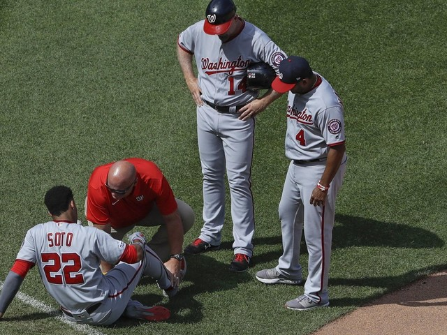 LEADING OFF: Nats' Soto on mend, Rays' Snell gets throwing