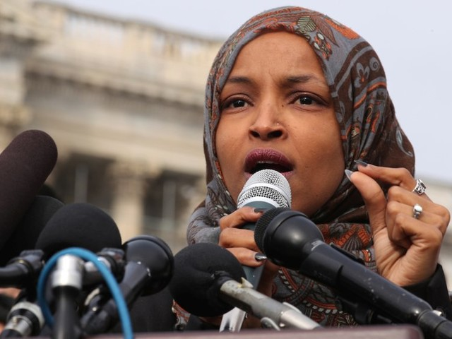 Rep. Ilhan Omar says she has received an increase in death threats since Trump shared a video about her 9/11 comments on Twitter