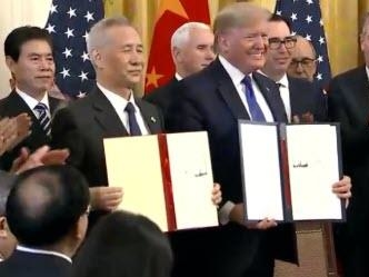 "Here Is The Full Text Of The ""Phase One"" US-China Trade Deal"