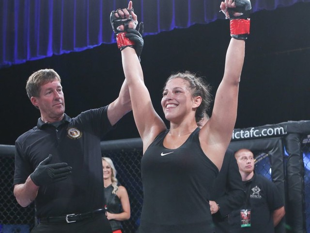 Invicta FC's Spencer talks balancing MMA with teaching algebra