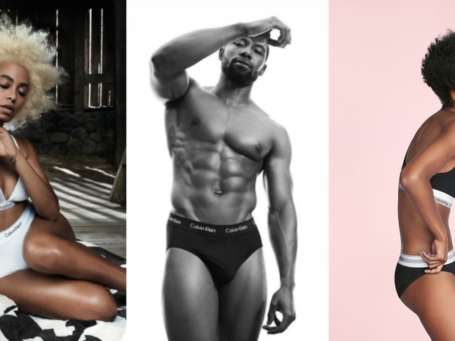 Solange And 11 Other Black Celebs Who Modeled In Calvin Klein's Iconic Ads