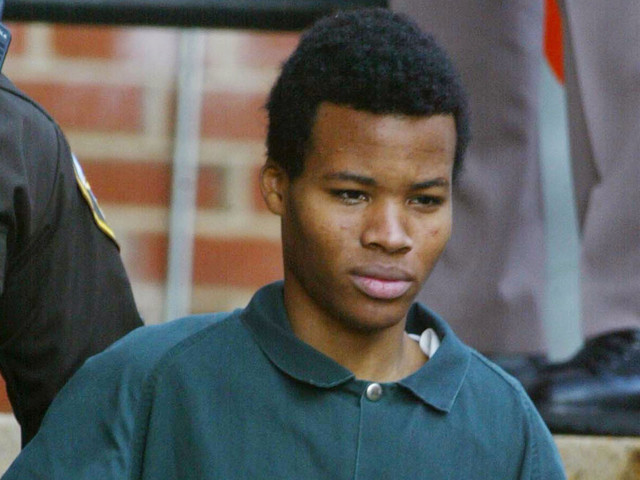 Supreme Court will hear case of DC sniper Lee Boyd Malvo's life sentence