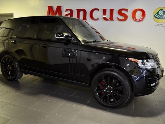 2014 Land-Rover Range--Rover
