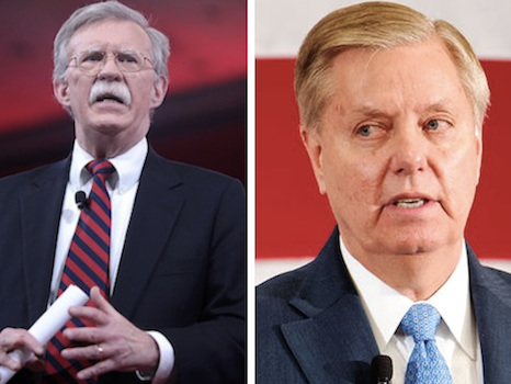 """""""Overwhelming Military Response Needed"""": Graham Urges Trump """"Stand Firm"""" On Iran"""