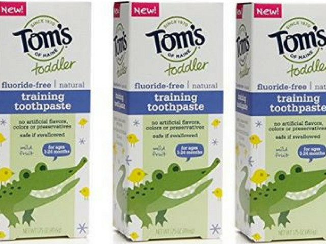 Amazon | Tom's of Main Toothpaste for Toddlers, $2.32 Each