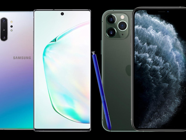 iPhone 11 Pro Max vs Samsung Galaxy Note 10+: Which $1,100 giant phablet phone is best?