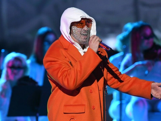 Bad Bunny Closes the Latin GRAMMY Awards With Serene Reggaeton Performance