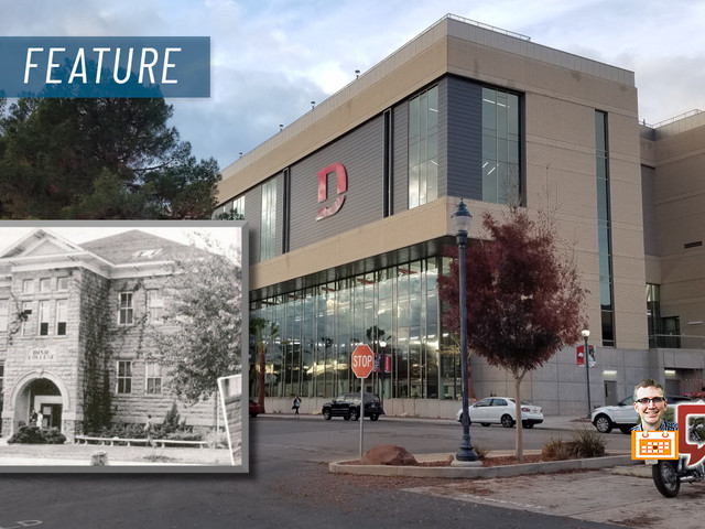 """Dixie State history day; the story of a """"doggedly loyal"""" community fighting to keep its school"""