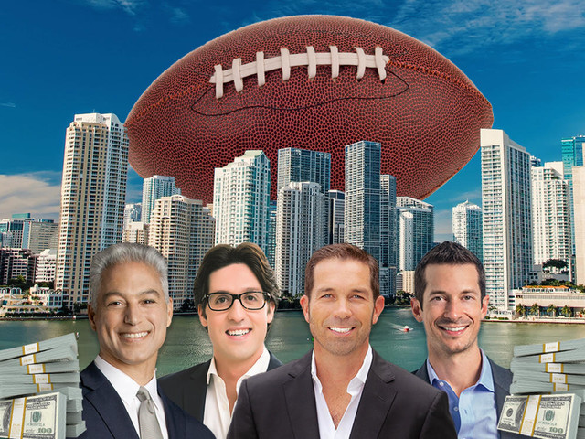 """""""The biggest week of the year"""": Miami luxury brokers eye potential buyers in town for Super Bowl"""