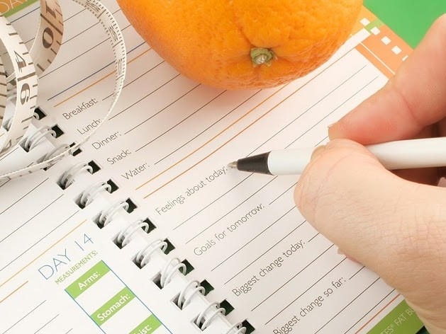 Using the Food Diary to Double Weight Loss