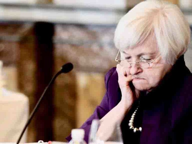 "Liesman Asks Yellen: ""Is The Fed Worried By The Market Going Up Triple Digits Every Day?"""