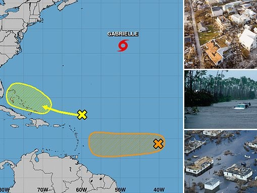 Tropical storm Humberto emerges in the Atlantic Ocean as the next potential threat