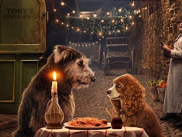 Disney Reveals First Look at Lady and the Tramp Remake, and Yes, They're Real Dogs!