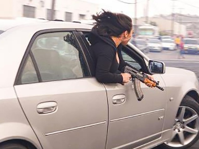 SFPD Seizes Cadillac Spotted During Sideshow With AK-47-Wielding Woman Hanging Out Window