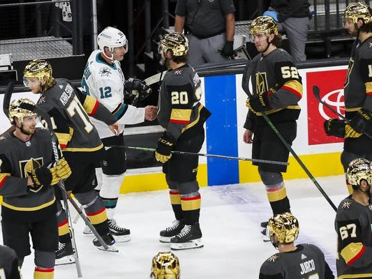 Golden Knights honored to be part of Patrick Marleau's historic night
