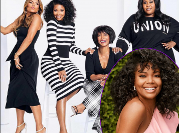 Gabrielle Union Just Dropped Some Gems In REDBOOK That'll Have You Living Your Best Life In 2018 + Her 'BMJ' Co-Stars Are Her BEST 'NY & Co' Models
