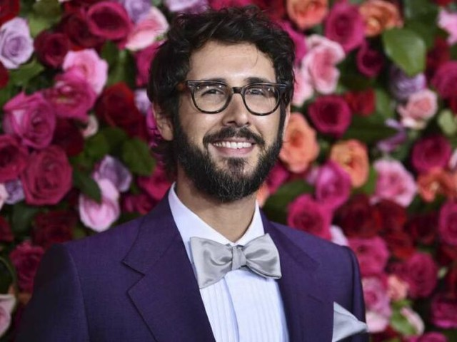 Josh Groban won't let virus stop his live music and album