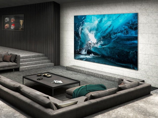 I saw Samsung's new Micro LED and the bright, gorgeous display could be the future of TV