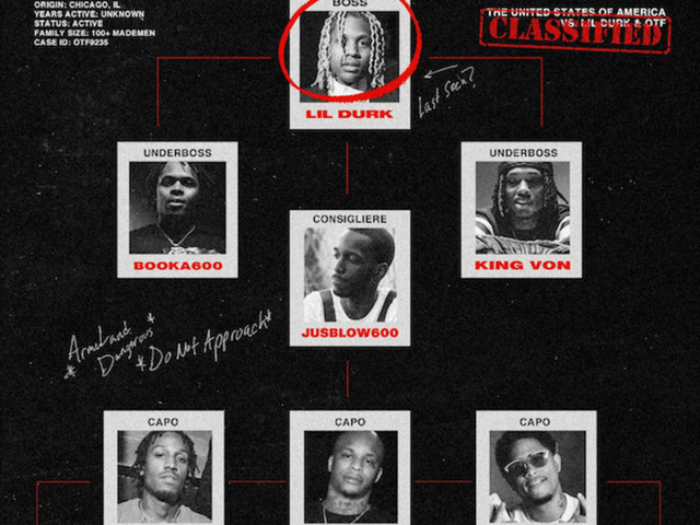 Lil Durk's OTF Drops 'Family Over Everything' Compilation Tape